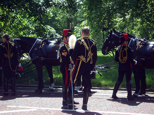 King's Troop RHA in London