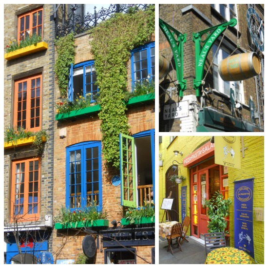 Neal's Yard Shopping and Dining Covent Garden London