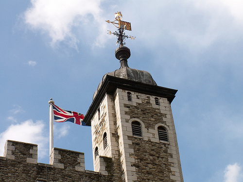 Tower of London Union Jack Flag