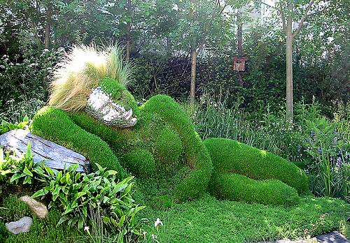 Chelsea Flower Show Land Art