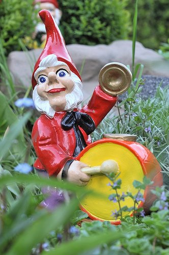 Garden Gnomes at the Chelsea Flower Show