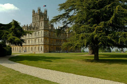 Highclere Castle Downton Abbey Location England