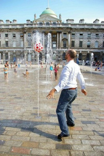 Somerset House Fountains London