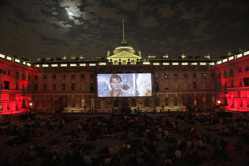 Summer Screen Somerset House London