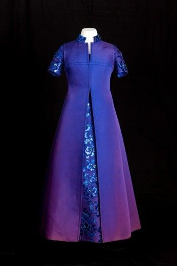 Kensington Palace Royal Wedding Dresses Book : Evening dress marc bohan for christian dior worn by princess