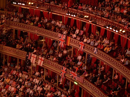 Last Night of the Proms Royal Albert Hall Auditorium