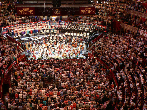 Last Night of the Proms Royal Albert Hall London