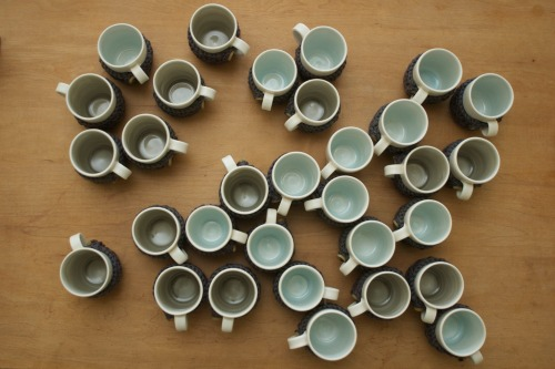 Linda Bloomfield Espresso Mugs Handmade London