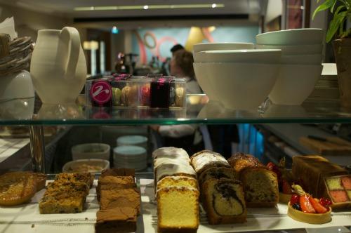 Linda Bloomfield Ceramics at Royal Albert Hall Cafe Bar Door 12
