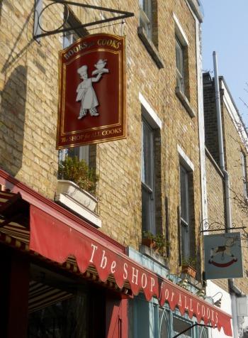 Books for Cooks Notting Hill London