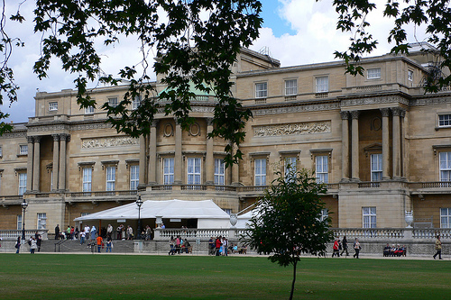 Buckingham Palace from Garden