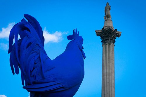 Hahn Cock Trafalgar Square Statue Fourth Plinth