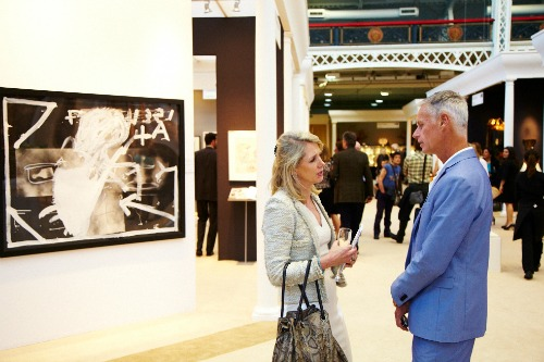 nternational Arts and Antiques at Olympia London