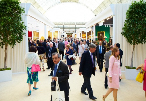 nternational Arts and Antiques at Olympia Kensington London