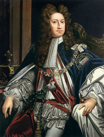 King George I of England