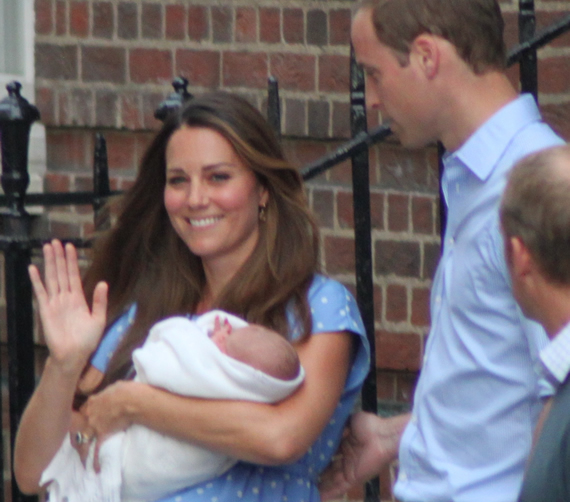 Royal Baby Mania in London
