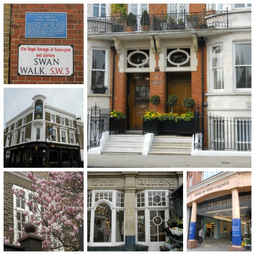 Charming Chelsea Architecture and Shopping