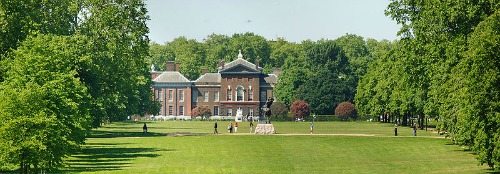 East Front of Kensington Palace