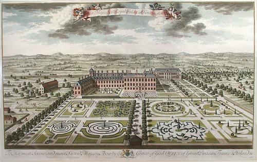 Kensington Palace in 1724