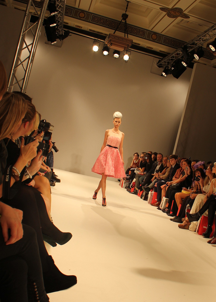 Let the show begin! London Fashion Week is on.