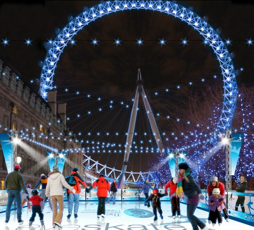 Where to Go Ice Skating in London this Winter