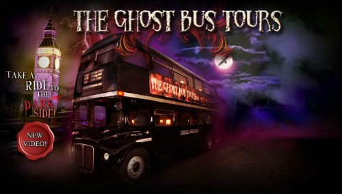 Ghost Bus Tours Halloween London