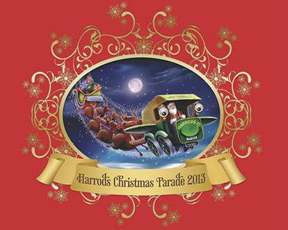 The Harrods Christmas Parade – 2013