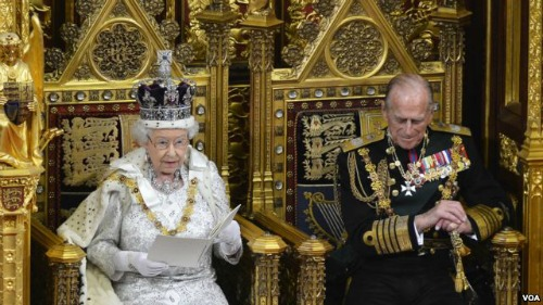 Queen Elizabeth Opening of Parliament 2013
