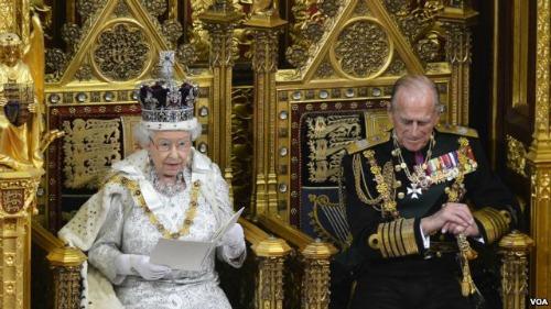 Queen Elizabeth Opening of Parliament 2013