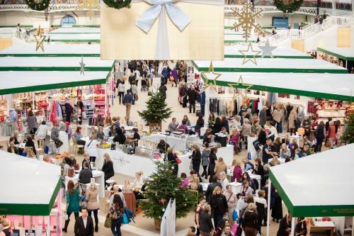 Spirit of Christmas Fair London Holiday Shopping