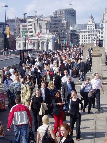 Busy London Bridge