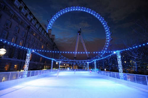 Eyeskating at the London Eye