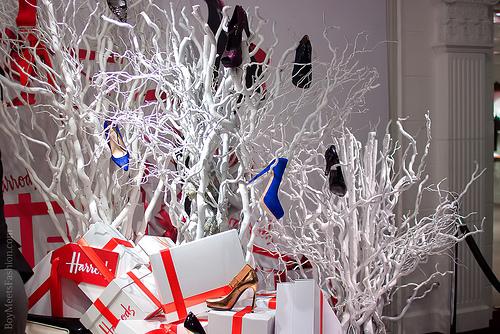 Harrods Winter Sale Display