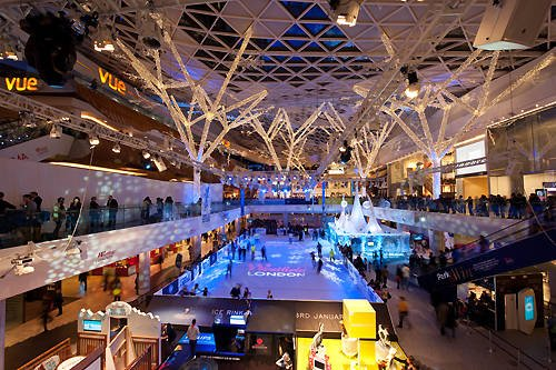 Ice Rink Westfield Shopping Centre London