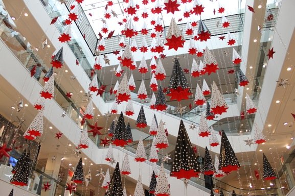 Last Minute Holiday Shopping At Peter Jones In Chelsea