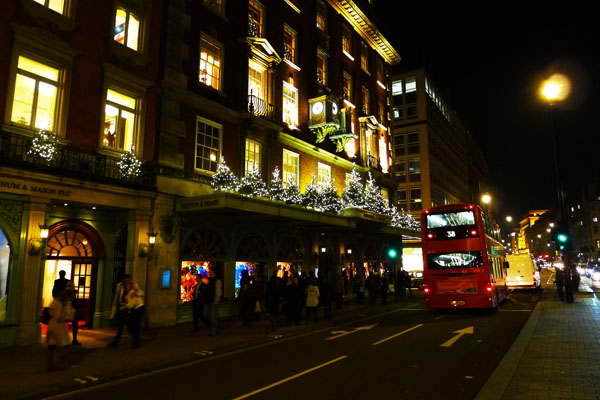 The Best Christmas Store Ever: Fortnum and Mason in London!