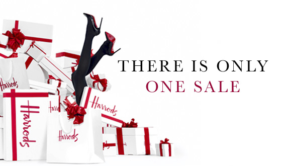 Harrods Winter Sale 2013