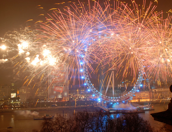 Taste the New Year's Eve Celebrations in London!