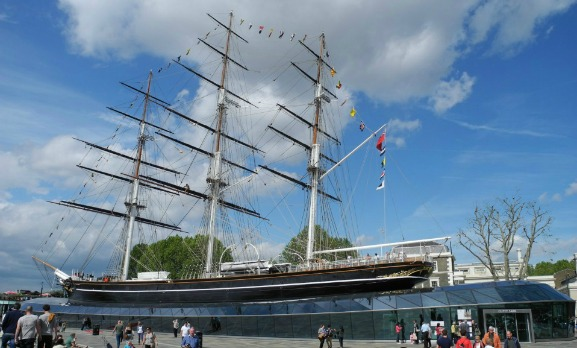 All Aboard the Cutty Sark