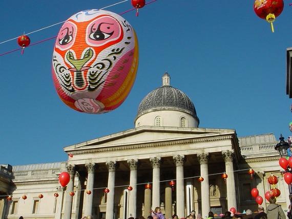 Chinese New Year London Trafalgar Square