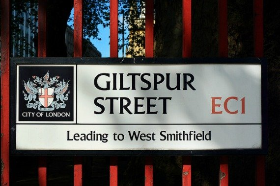 Intriguing street names in the City of London (Photo by George Rex)