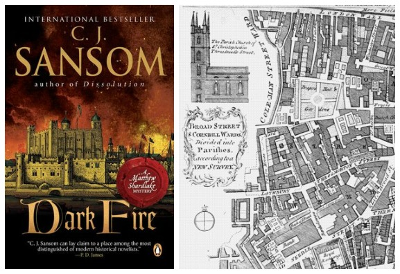"Book Review | Mysterious London in ""Dark Fire"" by C.J. Sansom"