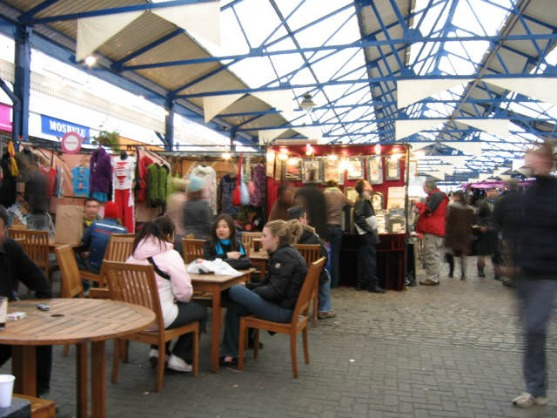 Pick up a bargain or two at Greenwich Market