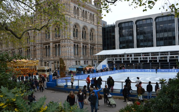 Last Weekend for Ice Skating in London