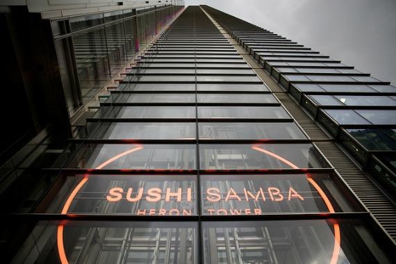 Sushi Samba Heron Tower London
