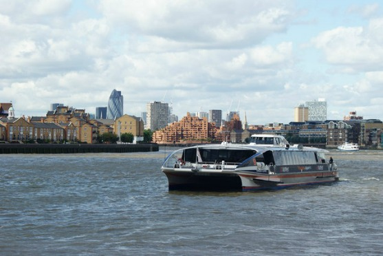 Nip down the Thames on a speedy clipper.