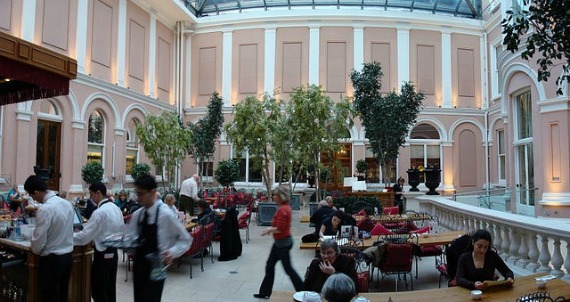 Wallace Collection London Courtyard Restaurant