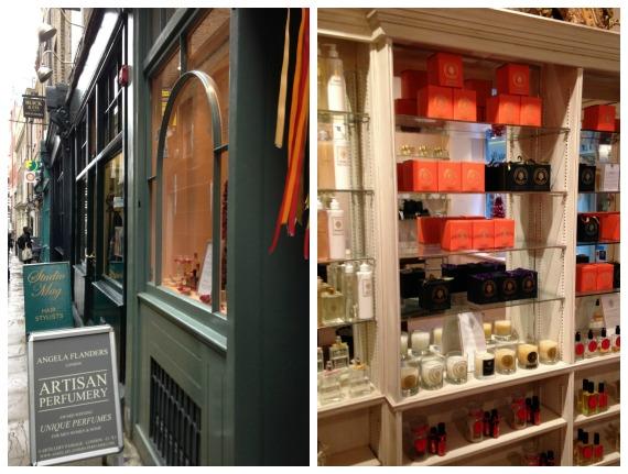 Angela Flanders Perfume Shop in London