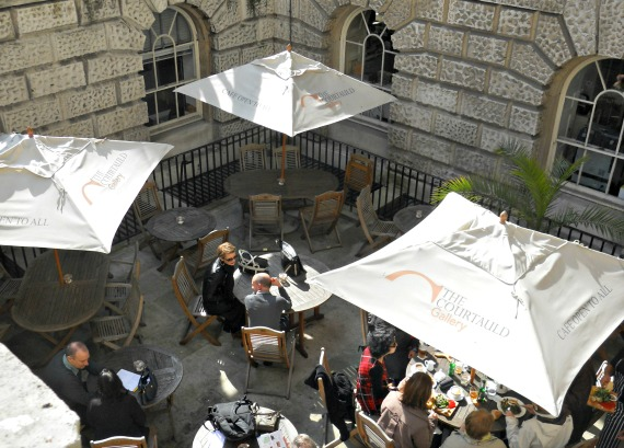 Courtauld Gallery Cafe London Outdoor Terrace
