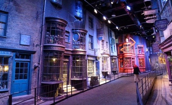 Diagon Alley Harry Potter Studio Tour London